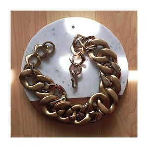 Gold Oversized Chain Necklace